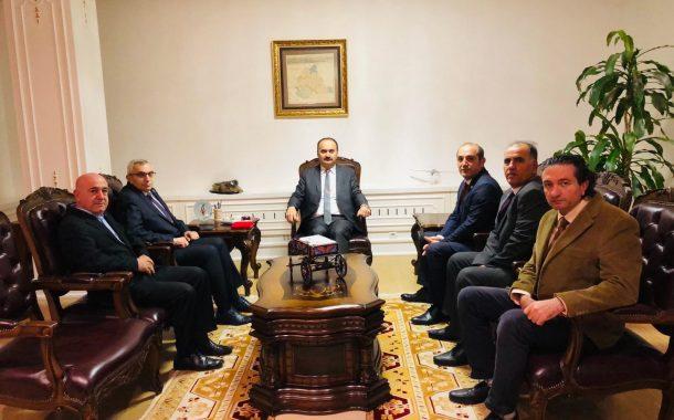 TEMAD Edirne İl Başkanlığı Yönetim Kurulu Edirne Valisi Sn.Ekrem CANALP'ı Ziyaret Etti.